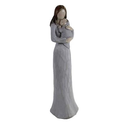 "Figurine 9.5"" Mother Child Figurine Family Child  -  Decorative Figurines"