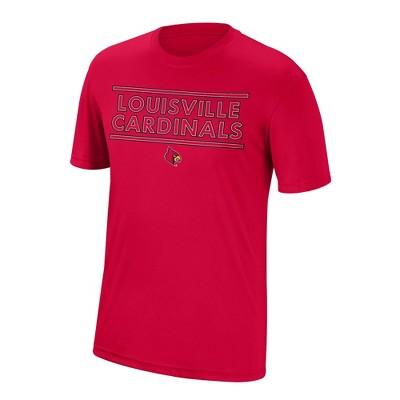 NCAA Louisville Cardinals Men's Short Sleeve Crew Neck T-Shirt