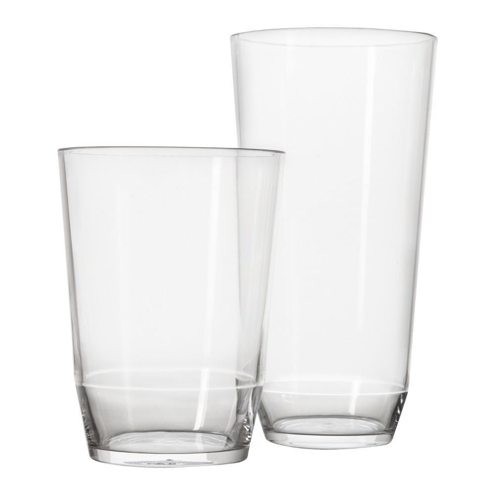 Acrylic Collection 8pc Tumblers Large/Small - Room Essentials
