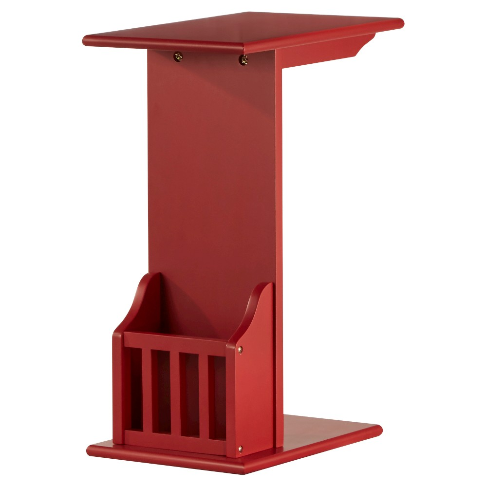 Image of Patton Magazine Rack Accent Table - Heirloom - Inspire Q