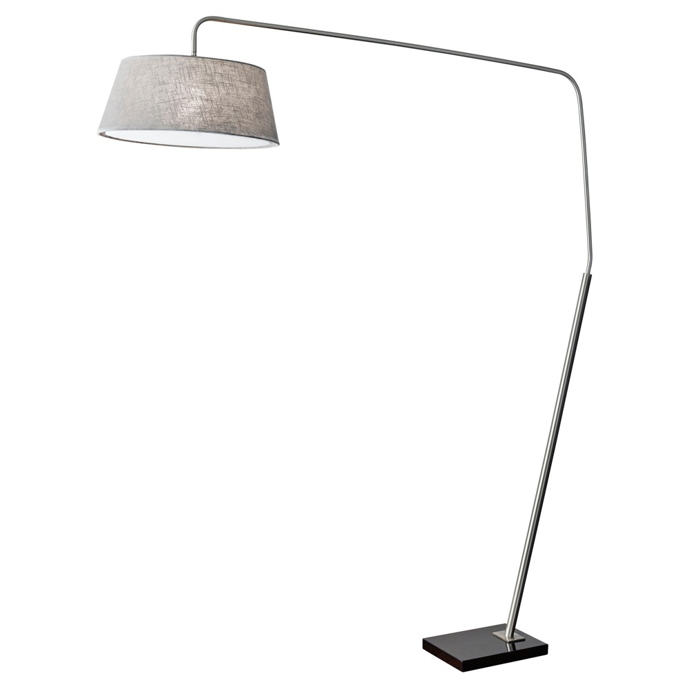 Image of Adesso Ludlow Arc Lamp (Lamp Only) - Silver