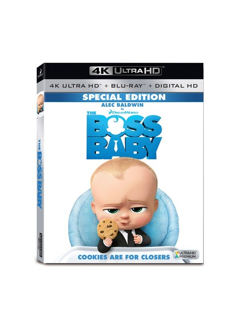 Boss Baby (4K/UHD + Blu-ray + Digital) - image 1 of 1