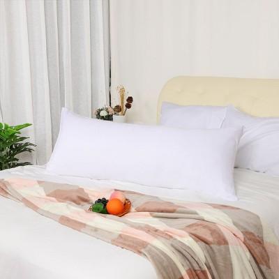 "2 Pcs Body 20""x54"" 1800 Microfiber Soft Pillowcase White  - PiccoCasa"