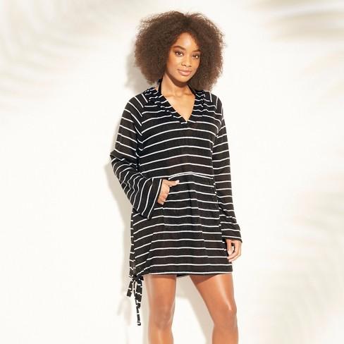 be6d22d575 Women s Knit Beach Cover Up Hoodie - Kona Sol™   Target