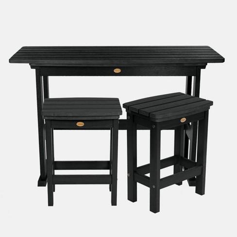 3pc Lehigh Counter Height Patio Balcony, Balcony Height Patio Furniture
