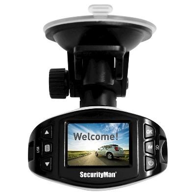 SecurityMan - Mini HD Car Camera Recorder - White