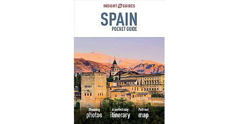 Insight Guides Spain Pocket Guide (Paperback) (Emma Stanford & Nick Inman) - image 1 of 1
