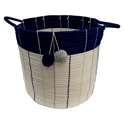 Large Storage Basket Navy - Pillowfort™