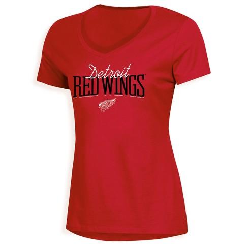 NHL Detroit Red Wings Women s Overtime V-Neck T-Shirt   Target f050af406