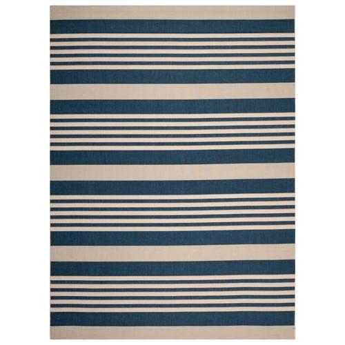 Santorini 9'x 12'Rug - Navy/Beige (Blue/Beige) - Safavieh