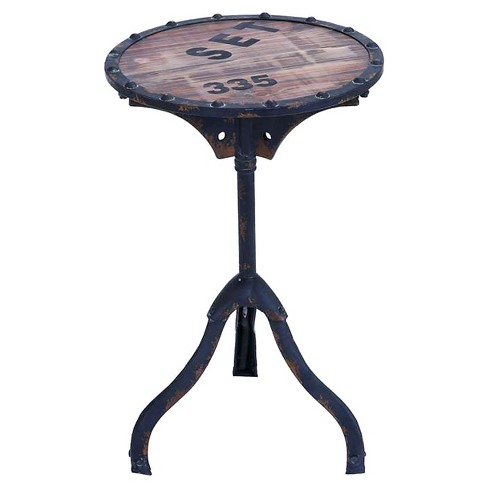 Accent Table Almost Black - Benzara - image 1 of 1