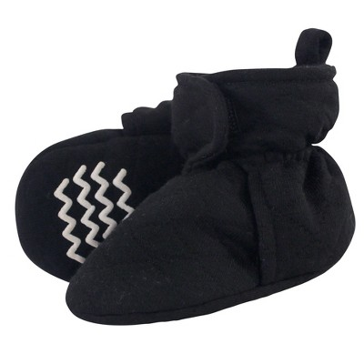 Hudson Baby Baby and Toddler Quilted Booties, Black