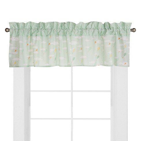 Dr. Seuss by Trend Lab Window Valance - Oh the Places You'll Go! - image 1 of 3