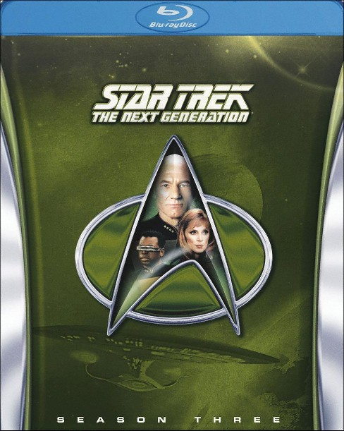 Star Trek: The Next Generation - Season Three [6 Discs] [Blu-ray] - image 1 of 1