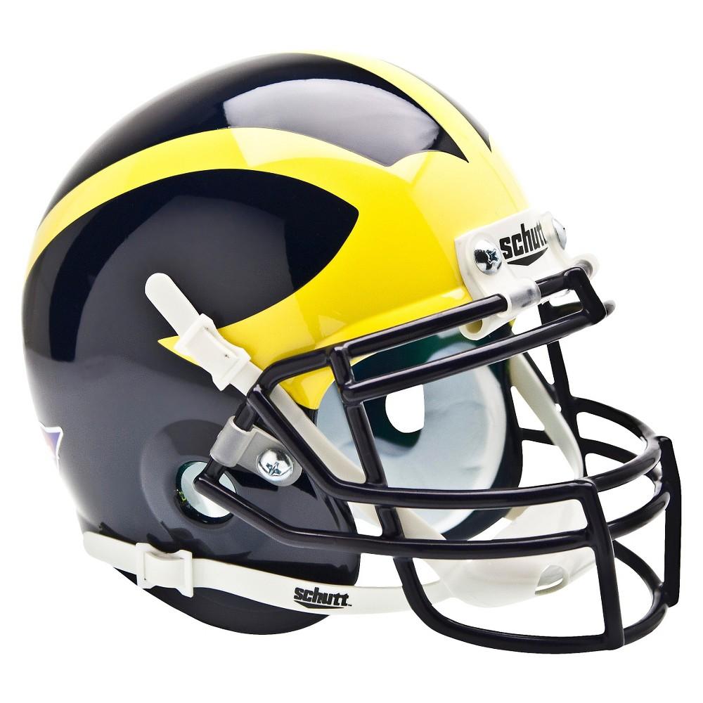 Michigan Wolverines Schutt Mini Helmet