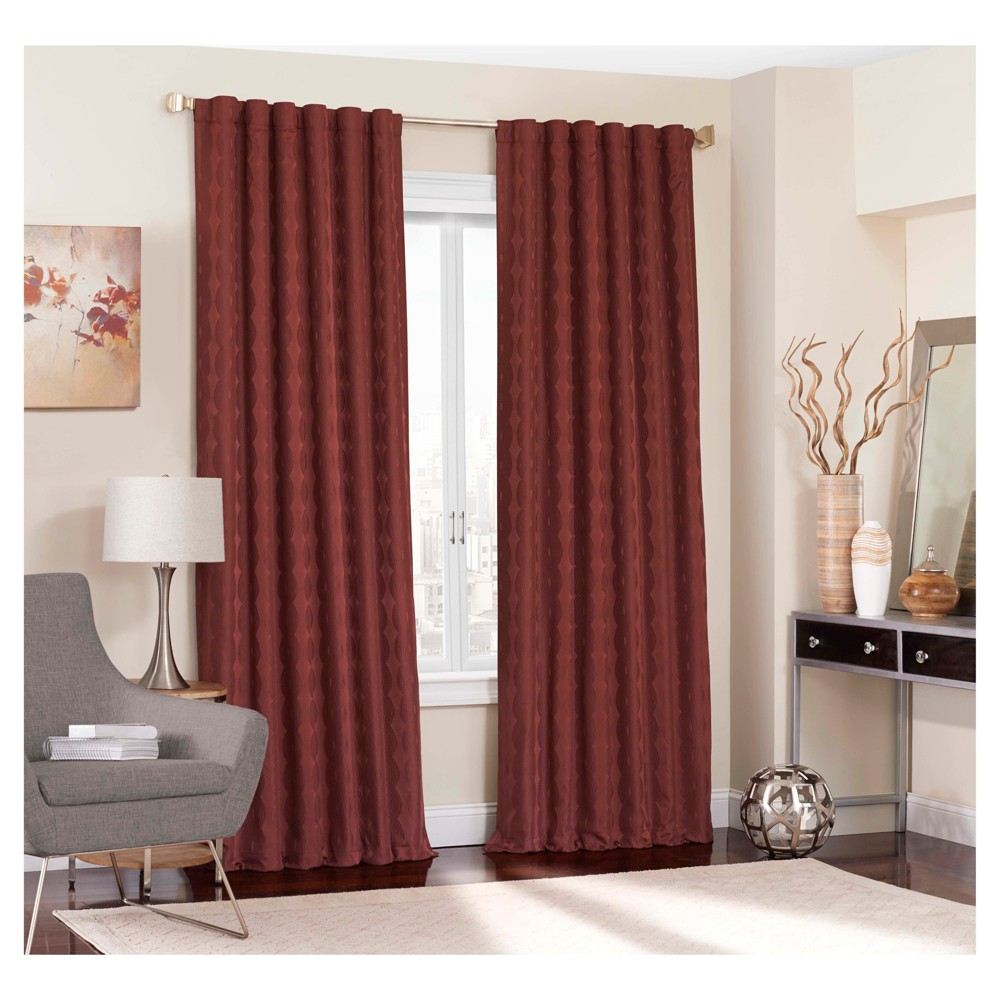 Adalyn Blackout Curtain Red (52