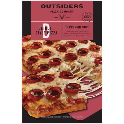 Outsiders Pizza Company Detroit Style Pepperoni Frozen Pizza - 28.1oz