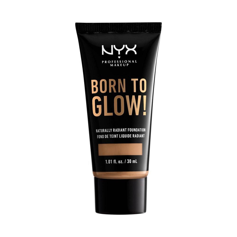 Nyx Professional Makeup Born To Glow Radiant Foundation 12 5 Camel 1 01 Fl Oz