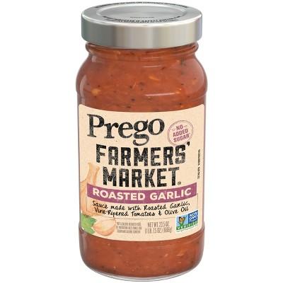 Prego Farmers' Market Roasted Garlic Marinara Pasta Sauce - 23.5oz