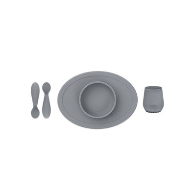 ezpz First Food Set - Gray