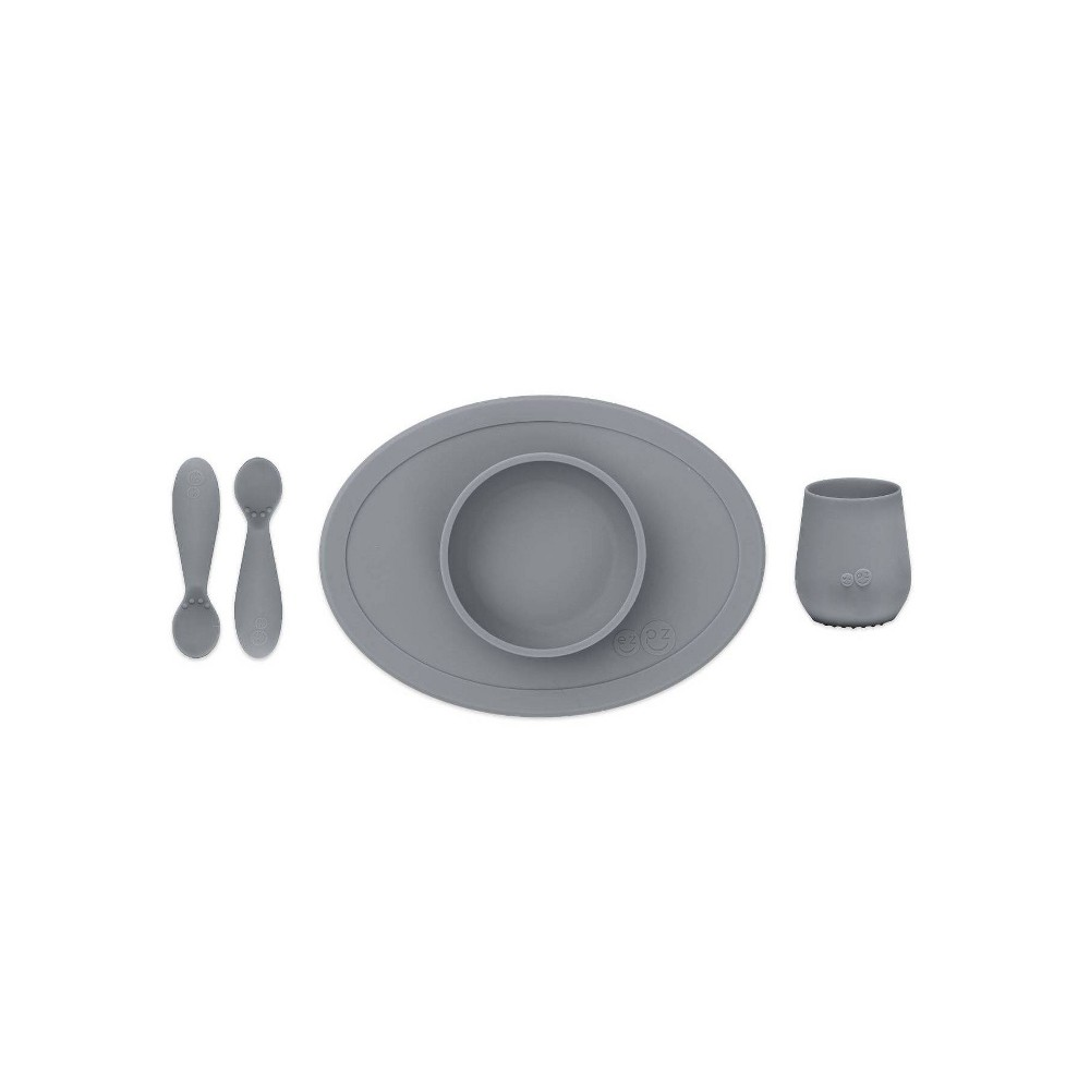 Image of ezpz First Food Set - Gray