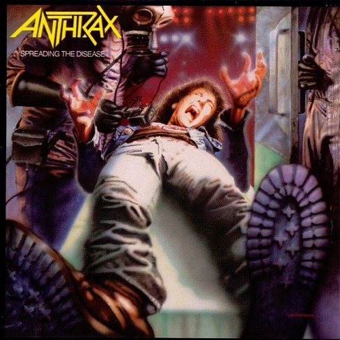 Anthrax - Spreading the disease [Explicit Lyrics] (CD) - image 1 of 1