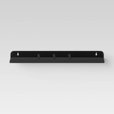 Metal Wall Ledge with 3-Clips - Room Essentials™
