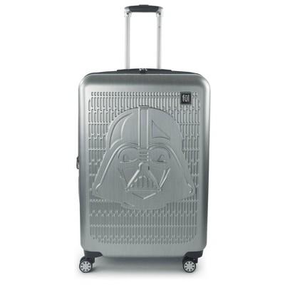 "FUL Star Wars Darth Vader Embossed 29"" Spinner Suitcase - Silver"