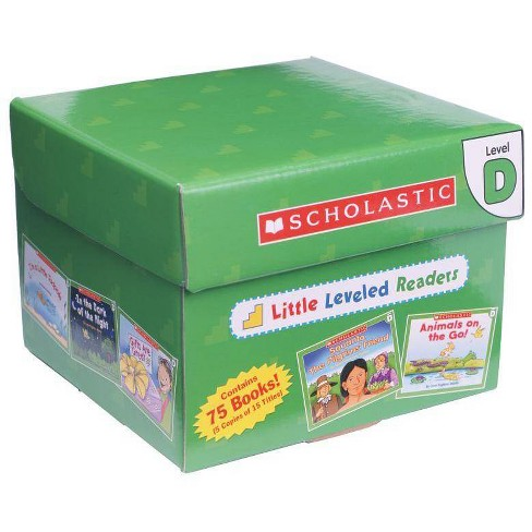 Little Leveled Readers: Level D Box Set - by  Scholastic Teaching Resources & Scholastic (Mixed Media Product) - image 1 of 1