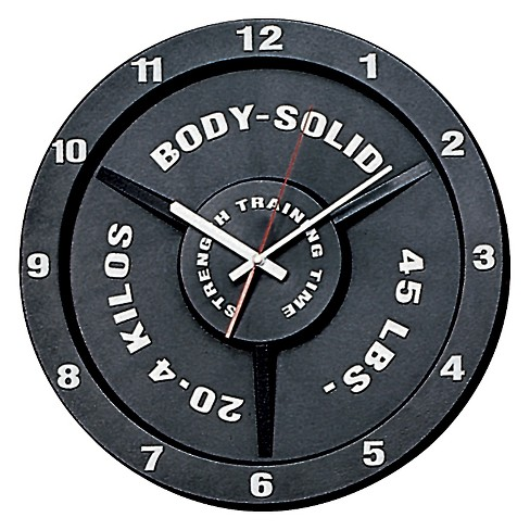 Body Solid Strength Training Time Clock  - Black - image 1 of 2