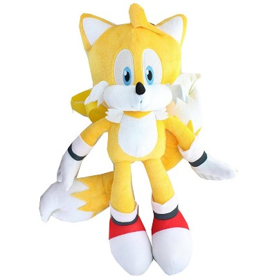 Accessory Innovations Company Sonic the Hedgehog Tails 17 Inch Plush Backpack