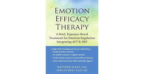 Emotion Efficacy Therapy : A Brief, Exposure-Based Treatment for Emotion Regulation Integrating ACT & - image 1 of 1