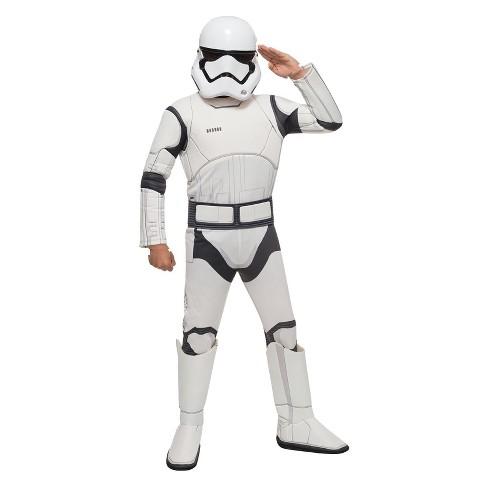 Kids' Star Wars: The Force Awakens - Stormtrooper Deluxe Costume S - image 1 of 1
