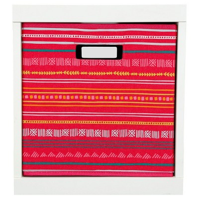 Stripe KD Storage Bin Pink - Pillowfort™