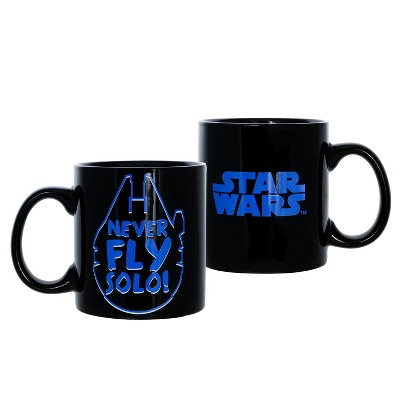 Seven20 Star Wars Never Fly Solo 20oz Ceramic Coffee Mug