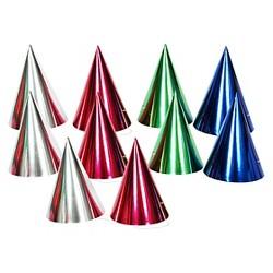 10ct Metallic Party Hat - Spritz™
