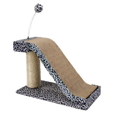 Cat-Life Scratching Post with Leopard Accents from Penn Plax