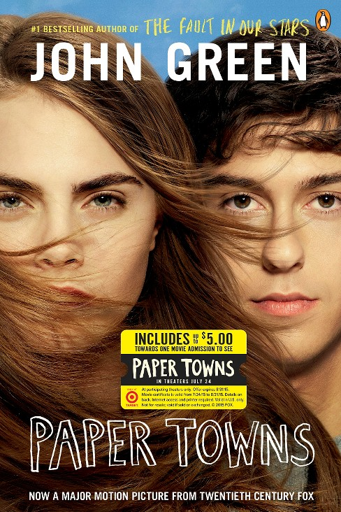 Only at Target: Paper Towns (Movie Cash Offer) (Paperback) by John  Green - image 1 of 1