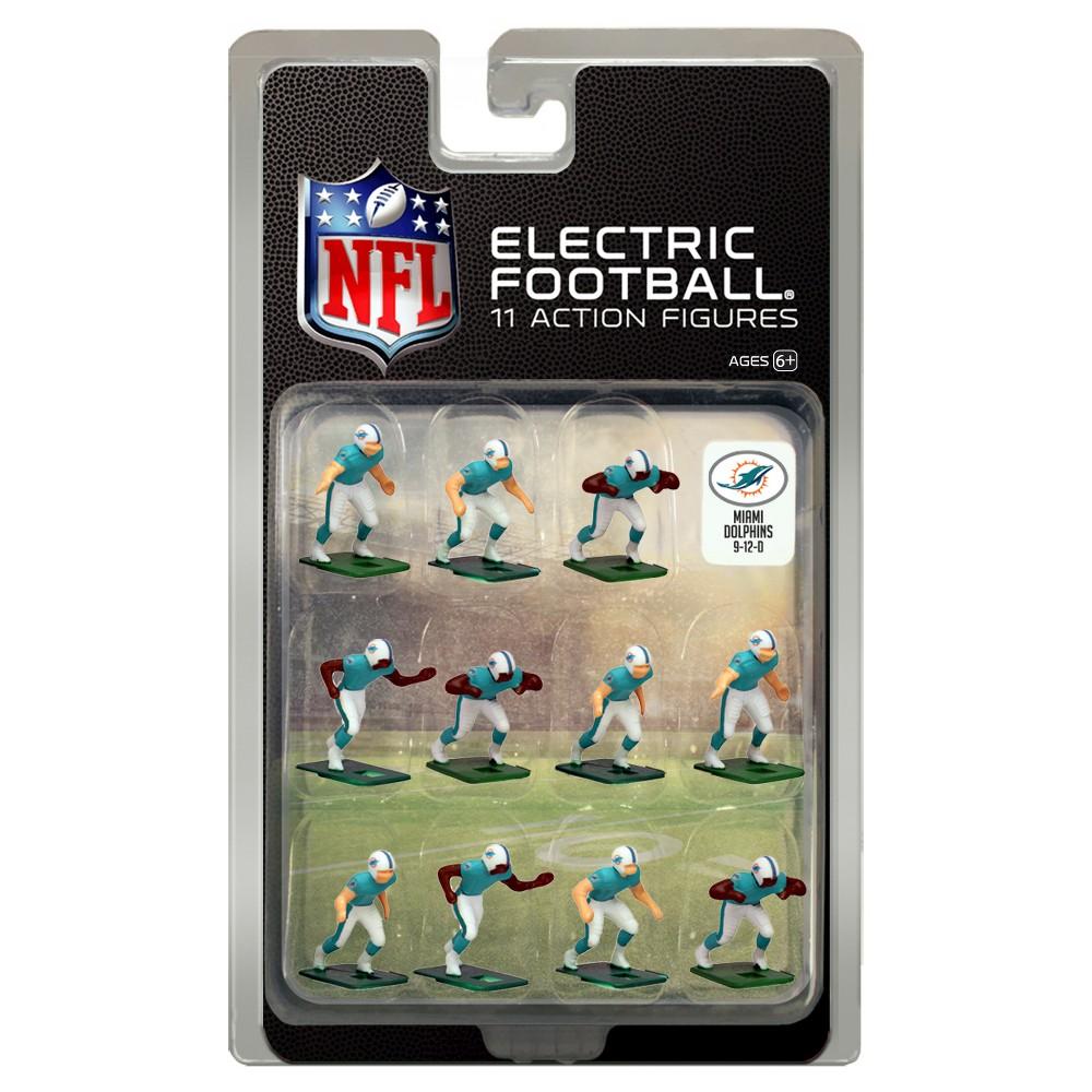 Nfl Miami Dolphins Tudor Games Home Uniform Electric Football Action Figure Set