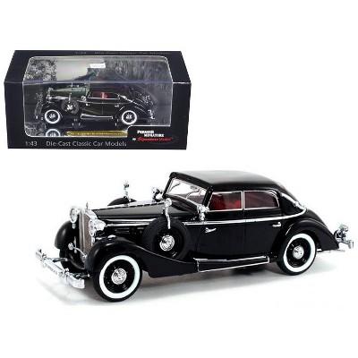1937 Maybach SW38 Spohn 4 Doors Black Convertible 1/43 Diecast Car Model by Signature Models