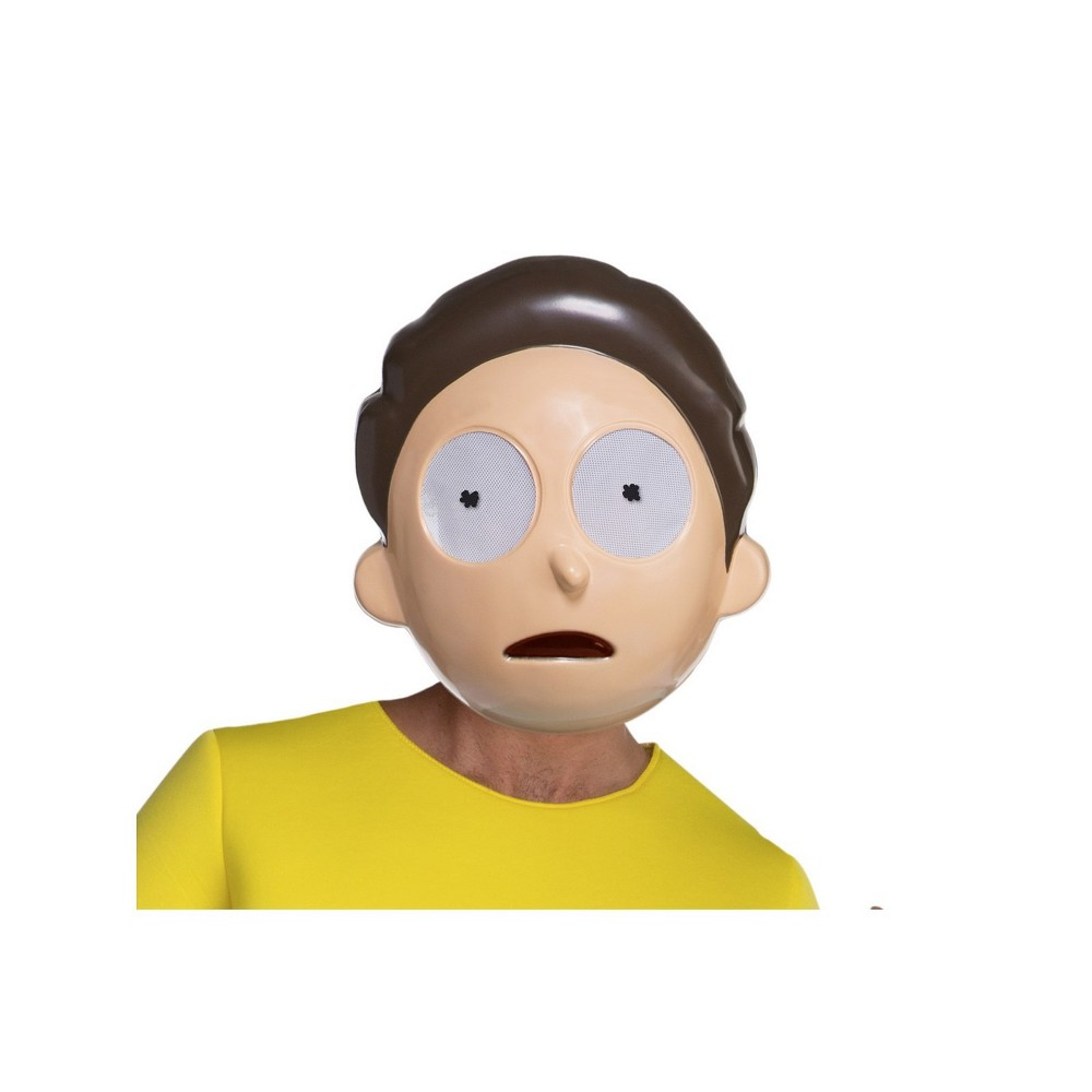 Men's Rick and Morty Halloween Morty Smith Mask, Multi-Colored