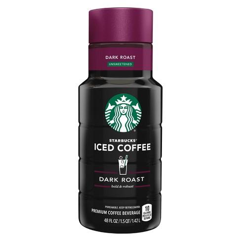 Starbucks Unsweetened Dark Roast Iced Coffee 48 Fl Oz