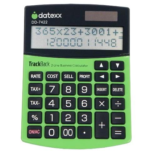 Calculator line icon royalty free vector image.