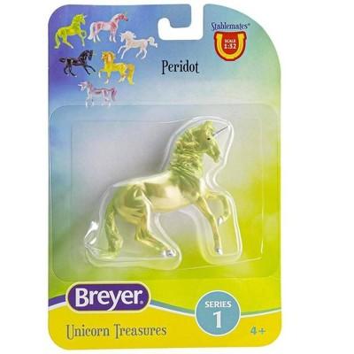 Breyer Animal Creations Breyer Unicorn Treasures 1:32 Scale Model Horse   Peridot