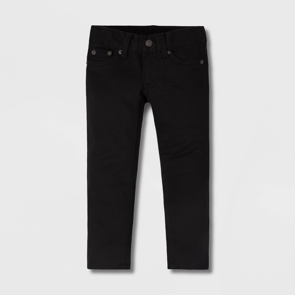 Levi 39 S 174 Toddler Boys 39 Slim Fit Suede Chino Pants Black 3t