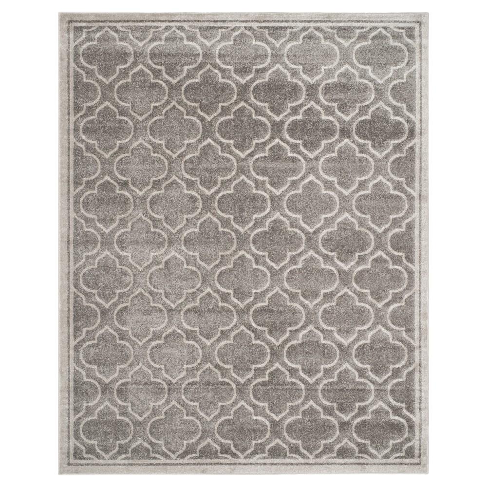 Coco 8'x10' Indoor/Outdoor Rug - Gray - Safavieh, Gray/Light Gray