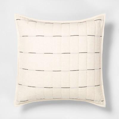 Broken Stripe Pillow Sham - Hearth & Hand™ with Magnolia