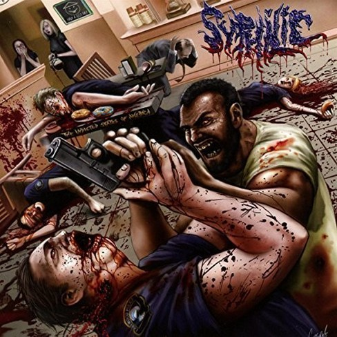 Syphilic - Indicted states of america (CD) - image 1 of 1
