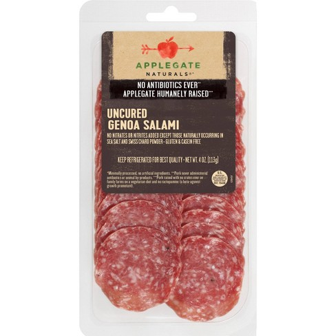 Applegate Natural Uncured Genoa Salami - 4oz - image 1 of 4