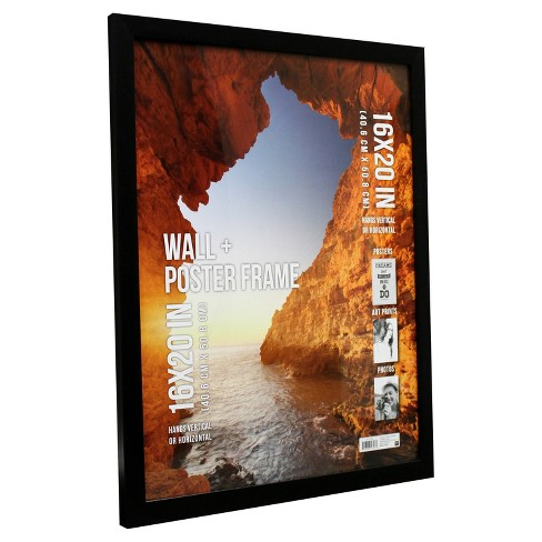 Poster Frame 1 Profile Black 16x20 Room Essentials Target
